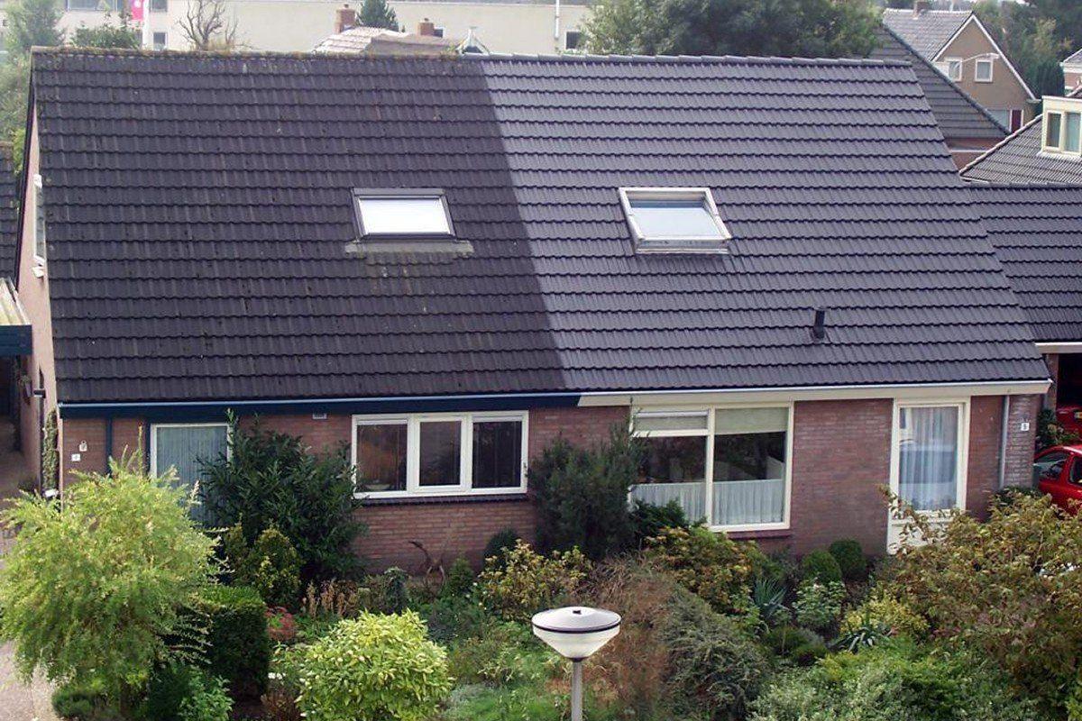 Zeer Dakpannen coaten dakcoating goedkoper dan vervangen van dakpannen KM66